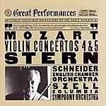 Isaac Stern Mozart: Violin Concertos Nos. 4 & 5