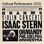 Isaac Stern Brahms: Concerto In D Major For Violin And Orchestra, Op. 77