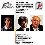 Mstislav Rostropovich Schnittke: Concerto No. 2 For Cello And Orchestra, In Memoriam...For Orchestra
