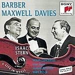 Leonard Bernstein Barber/Maxwell Davies: Violin Concertos
