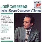 José Carreras Italian Operas Composers' Songs