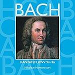 Nikolaus Harnoncourt Bach, Js : Sacred Cantatas Bwv Nos 94 - 96
