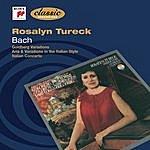 Rosalyn Tureck Rosalyn Tureck - Bach - Goldberg Variations, Bwv 988