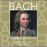 Nikolaus Harnoncourt Bach, Js : Sacred Cantatas Bwv Nos 170 - 173