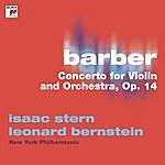 Leonard Bernstein Barber: Concerto For Violin And Orchestra, Op. 14