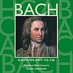 Nikolaus Harnoncourt Bach, Js : Sacred Cantatas Bwv Nos 143 - 146