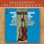 Zino Francescatti Mendelssohn & Tchaikovsky: Violin Concertos [Great Performances]