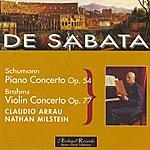 Victor De Sabata Schumann : Piano Concerto Op.54 - Brahms : Violin Concerto Op.77
