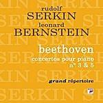"""Leonard Bernstein Beethoven: Piano Concertos Nos. 3 & 5 """"Emperor"""""""