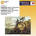"""Cleveland Orchestra Schubert: Symphonies No. 8 """"Unfinished"""" And No. 9 """"The Great"""""""