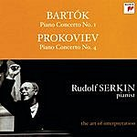"Columbia Symphony Orchestra Bartok: Piano Concerto No. 1; Prokofiev: Piano Concerto No. 4 ""For The Left Hand"" [Rudolf Serkin - The Art Of Interpretation]"