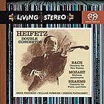 Jascha Heifetz Bach: Concerto For Two Violins In D Minor; Brahms: Concerto For Violin And Cello In A Minor; Mozart: Sinfonia Concertante In E-Flat