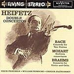 Jascha Heifetz Bach: Concerto For Two Violins/Mozart: Sinfonia Concertante/Brahms: Double Concerto