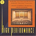 "Boston Symphony Orchestra Bartok: Concerto For Orchestra; Kodaly: ""Peacock"" Variations"