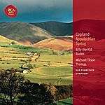 Michael Tilson Thomas Copland: Appalachian Spring; Billy The Kid; Rodeo: Classic Library Series