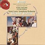 Leonard Slatkin Barber: Cello & Violin Concerto