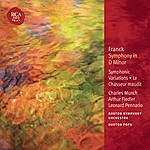 Leonard Pennario Franck: Symphony In D Minor; Le Chasseur Maudit; Symphonic Variations: Classic Library Series