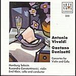 Emil Klein Donizetti/Vivaldi: Double Concertos For Violin And Cello