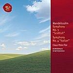 "Claus Peter Flor Mendelssohn: Symphony No. 3 ""Scottish"" & Symphony No. 4 ""Italian"""