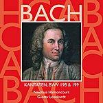 Nikolaus Harnoncourt Bach, Js : Sacred Cantatas Bwv Nos 198 & 199