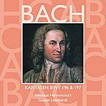 Nikolaus Harnoncourt Bach, Js : Sacred Cantatas Bwv Nos 196 & 197