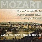 Edwin Fischer Mozart: Piano Concert No. 24 & 25, Fantasy In C Minor