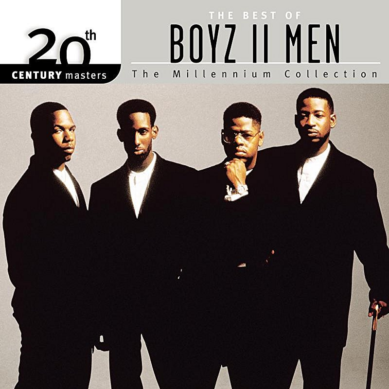 Cover Art: The Best Of Boyz II Men 20th Century Masters The Millennium Collection