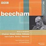 Sir Thomas Beecham Beecham - Chabrier, Mozart, Delius, Debussy, Saint-Saens, Berlioz, Massenet (1955-1959)