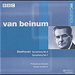Eduard Van Beinum Van Beinum - Beethoven: Symphonies Nos. 2 And 7