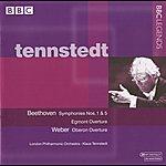 Klaus Tennstedt Tennstedt - Beethoven: Symphonies Nos. 1 & 5 - Egmont Overture - Weber: Oberon Overture