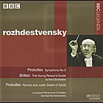 Gennady Rozhdestvensky Rozhdestvensky - Prokofiev: Symphony No. 5 / Romeo And Juliet Suite No. 1 - Britten: The Young Person's Guide (1960, 1971)