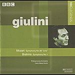 Carlo Maria Giulini Giulini - Mozart: Symphony No. 36, 'linz' - Brahms: Symphony No. 1