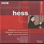 Myra Hess Hess - Beethoven: Piano Concerto No. 2 - Schumann: Piano Concerto