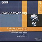 Gennady Rozhdestvensky Rozhdestvensky - Tchaikovsky: The Nutcracker -Shostakovich: Bolt / Stravinsky: Scenes De Ballet (1981, 1987)