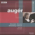 Arleen Augér Auger - Schumann, Schubert, Schoenberg, R. Strauss (1987)