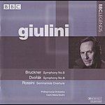 Carlo Maria Giulini Giulini - Bruckner: Symphony No. 8 - Dvorak: Symphony No. 8 - Rossini: Semiramide Overture