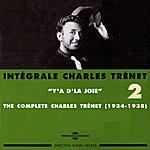 Charles Trenet Intégrale De Charles Trenet, Vol.2 (1934-1938) (Y A D'la Joie)