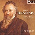 Yehudi Menuhin Johannes Brahms, Vol. 4 (1957)