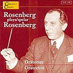 Hilding Rosenberg Rosenberg Plays Rosenberg (Oratorios)