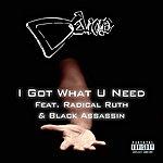 Devious I Got What U Need (Feat. Radical Ruth & Black Assassin) - Single