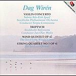 Nils-Erik Sparf Wiren: Violin Concerto / Triptyk / Wind Quintet / String Quartet No. 5