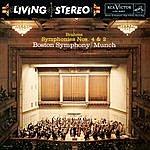 Charles Munch Brahms: Symphonies No. 4 In E Minor, Op. 98 & No. 2 In D Major, Op. 73 - Sony Classical Originals