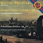 Murray Perahia Schubert: Sonata In A Major; Schumann: Sonata In G Minor