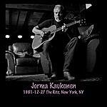 Jorma Kaukonen 1981-12-27 The Ritz, New York, Ny