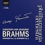 Christoph Von Dohnanyi Brahms Symphony No. 1 & Symphony No. 3
