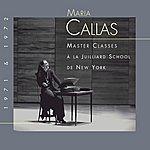 Maria Callas Callas Virgin Julliard School
