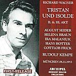 Rudolf Kempe Richard Wagner : Tristan Und Isolde (Act II & III)