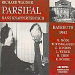 Martha Mödl Richard Wagner: Parsifal (Bayreuth 1952)