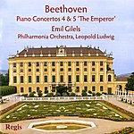 """Leopold Ludwig Beethoven: Piano Concertos 4 & 5 """"The Emperor"""""""