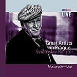 Sviatoslav Richter Great Artists - Live In Prague - Sviatoslav Richter - Piano - Mussorgsky - Liszt
